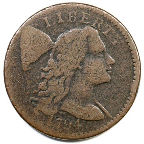 1794 S-61 R-4 Liberty Cap Large Cent Coin 1c