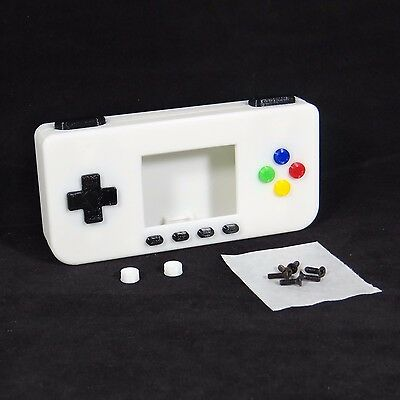PiGRRL Zero GLOW Game Boy Case Buttons Screws Washers Raspberry Pi Zero Gameboy