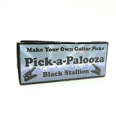 Make Your Own Guitar Pick (Pick-a-Palooza Make Your Own Guitar Picks Black Stallion DIY Guitar Pick)