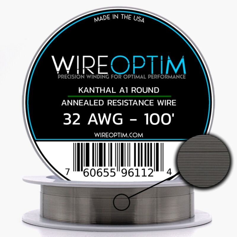 32 Gauge AWG Kanthal A1 Wire 100