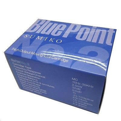 Sumiko Blue Point No. 2 High Output MC Cartridge, Made in Japan