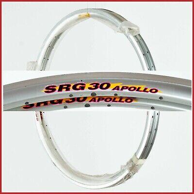 "NOS AMBROSIO AERO RIMS 28/"" 700c 32H VINTAGE CLINCHER 90s ROAD RACING BIKE NEW"