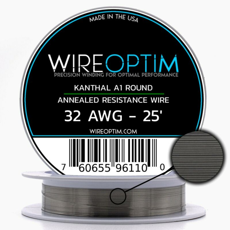32 Gauge AWG Kanthal A1 Wire 25