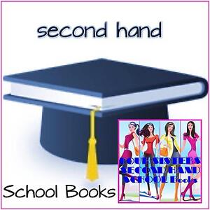 """ Second Hand  TEXTBOOKS "" Yr 7 to Yr 12 VCE Berwick Casey Area Preview"