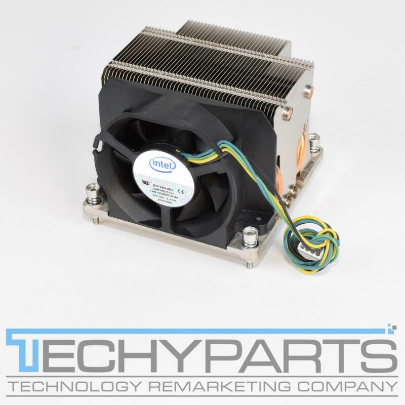 Intel Xeon Socket LGA1366 Heatsink Cooler Fan Copper Base Heatpipe E97384-002
