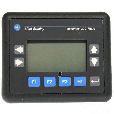 Allen Bradley 2711-m3a18l1 A Panelview 300 Micro Fw 4.46