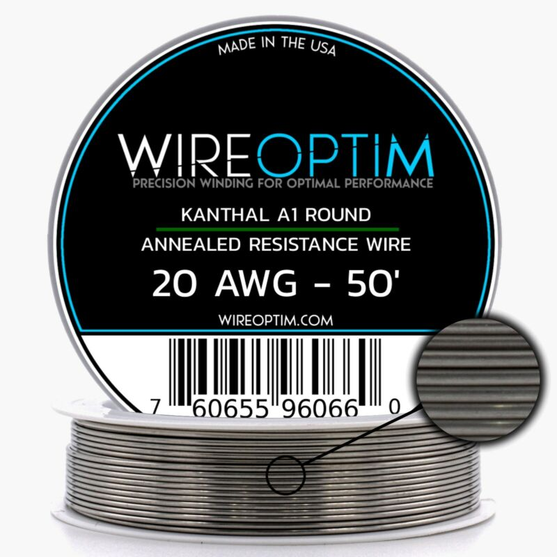 20 Gauge AWG Kanthal A1 Wire 50