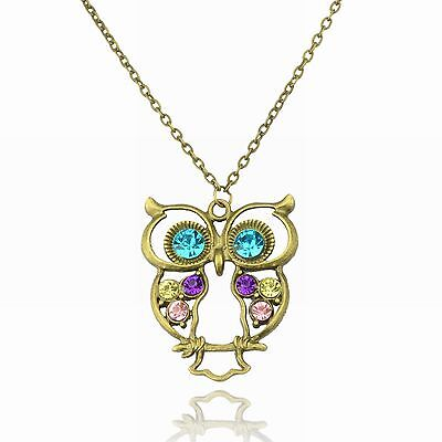 Owls lend themselves to striking jewellery designs