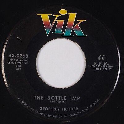 "GEOFFREY HOLDER: The Bottle Imp US VIK Calypso Horror Halloween 7"" 45 MP3](Halloween Horror Music Mp3)"