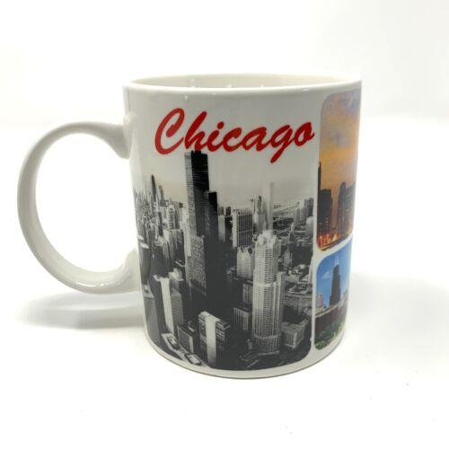 NEW Chicago City Skyline Coffee Cup Mug 10 oz Souvenir Ships from USA