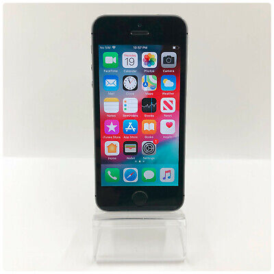 Apple iPhone 5s - 16GB - Space Gray GSM Unlocked Excellent Condition!