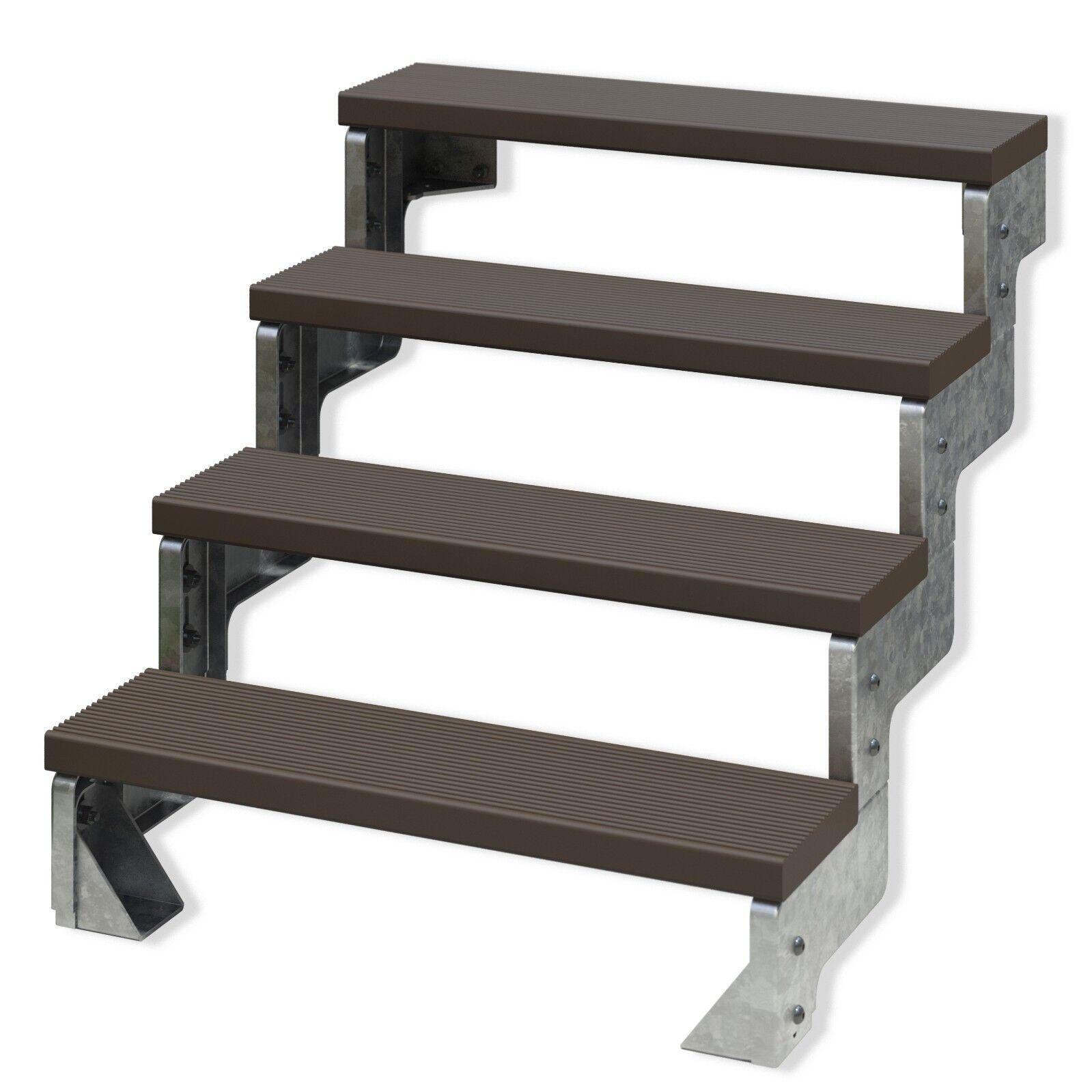 DOLLE Außentreppe Gardentop | 2 - 14 Stufen | Gartentreppe | Balkontreppe |