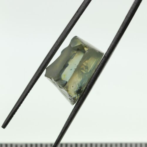 2.66gr Radiant Rutile Gray Lab Created Rough Stone