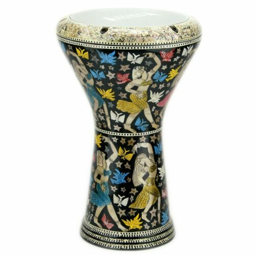 M23 Drum Darbuka tabla doumbek mother of pearl Gawharet El Fan free bag 17 inch