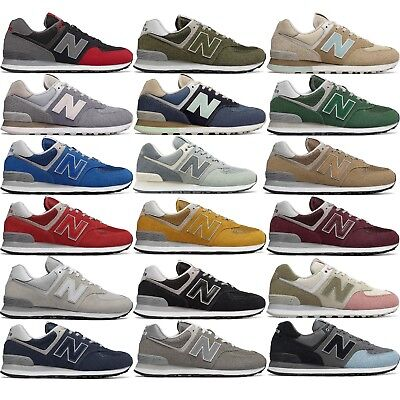 separation shoes 3cf23 cacb0 NEW BALANCE 574 CLASSIC MEN S RUNNING LIFESTYLE SHOES COMFY CASUAL SNEAKERS