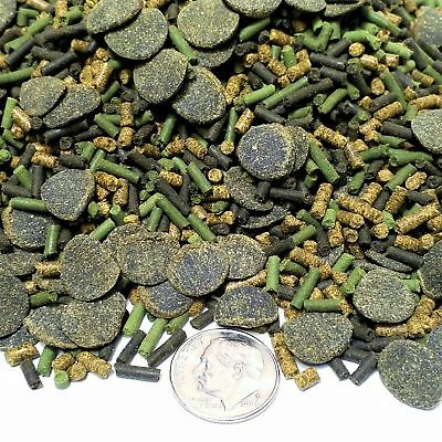 Shrimp Food - GB-160  4-type Veggie Blend Perfect for African Cichlids, Shrimp, Snails, Crays
