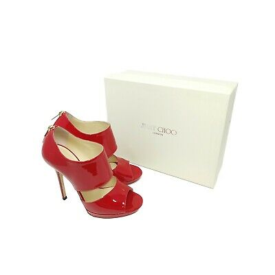 Jimmy Choo Private Red Patent Leather ~ UK 5 / EU 38 / US 8