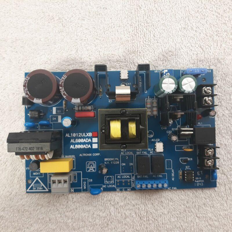 Altronix AL1012ULXB Board Only (New Open Box Item) Power Supply
