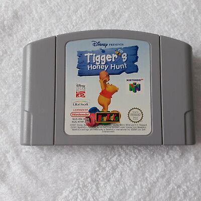 Tiggers Honey Hunt N64 Nintendo 64 Loose Cartridge Only PAL 2