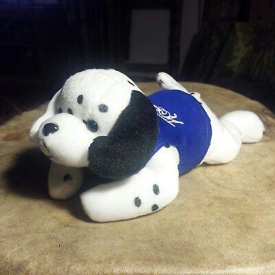 "Couchmen Logo Bear Brand Vintage Dalmatian  Dog With Blue T-Shirt 9"" NEW"