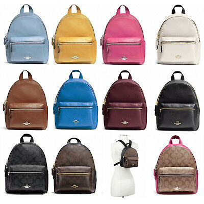 New Coach F38263 F58315 Mini Charlie Backpack New With Tags