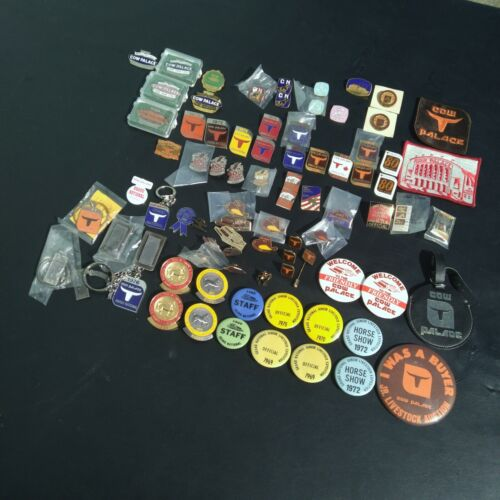 Huge Big Lot Vintage Cow Palace Grand National Expo Horse Rodeo Show 46 + Pin
