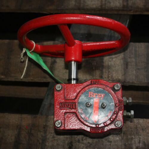 BRAY CONTROLS 20:1 Manual Gear Box Actuator 04-0200-11250-001