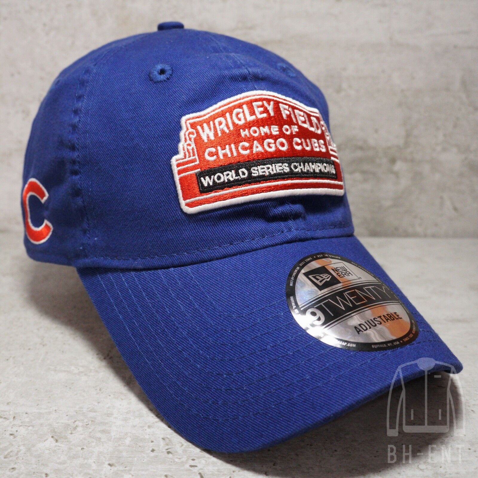 53d42fb6e3f Chicago Cubs Wrigley Field New Era 9Twenty World Series Champions Hat Jersey