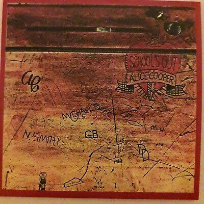 ALICE COOPER:SCHOOL'S OUT (1972 Album) Warner CD Inc. My Stars & Alma...