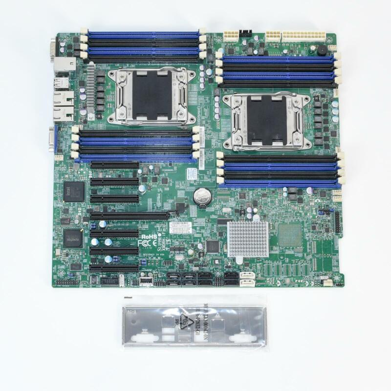 Supermicro X9DRH-iF Dual Socket XEON LGA2011 Extended ATX Server Motherboard