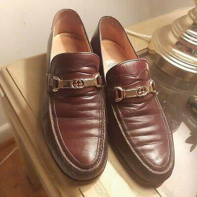 Vintage Gucci Horsebit Leather shoes