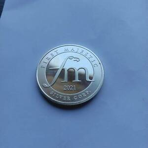 1oz Silver 999 First Majestic Silver Mining Company Medallion (2021)
