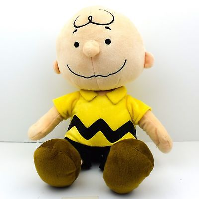 Charlie Brown Peanuts Kohls Cares Plush Toy Doll Peanuts Yellow Shirt 9