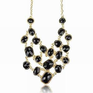 beaded necklace l prom meljoycreations black jewellery by earrings jewelry and