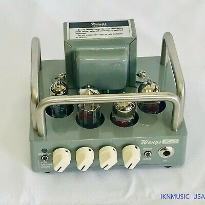 Mini 5 Wangs All Tube Guitar Amplifier Amp Head, 5 Watt