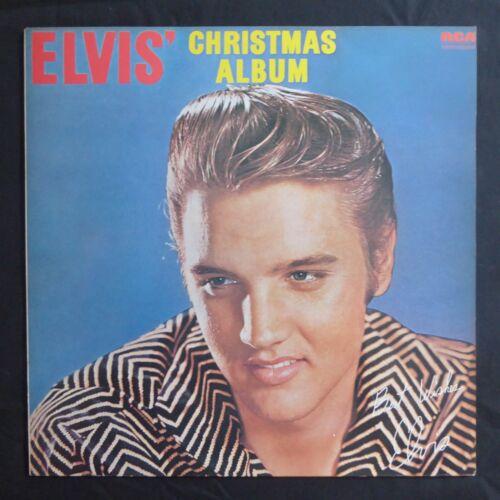 Elvis Christmas Album Vinyl.Details About Elvis Presley Elvis Christmas Album Rca Green Label Uk Press Vinyl Lp Nm