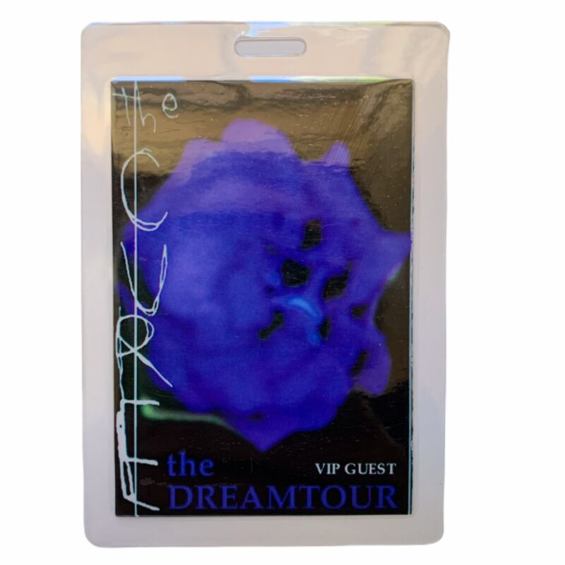 THE CURE Laminated The Dreamtour VIP Pass
