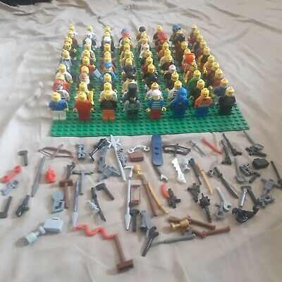 Lego Minifigures 10 x Random Mini figures + Accessories Star Wars City Bundle