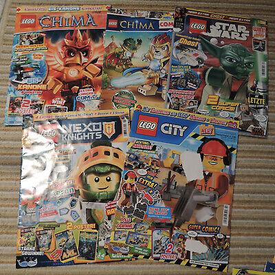 Lego Zeitschriften, Mädchen, Jungen, Kinder, Zeitungen, Sammler Chima, Star Wars gebraucht kaufen  Nuthetal