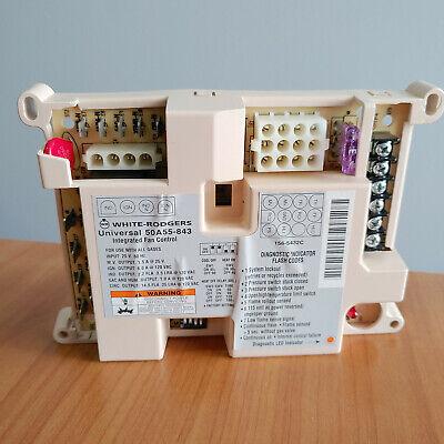 White Rodgers 50a55-843 Universal Furnace Fan Control Circuit Board Module Used