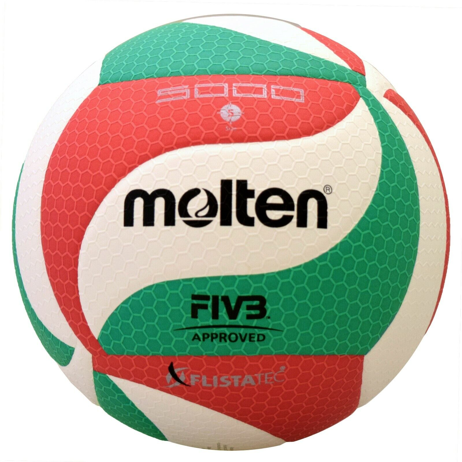 Molten Flistatec V5m5000 Norceca Volleyball Us Seller For Sale Online