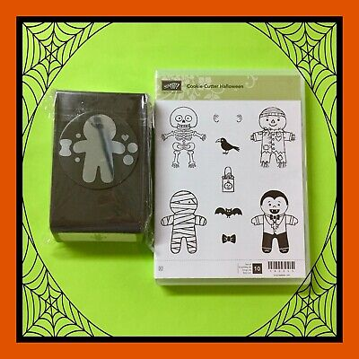 Stampin' Up! COOKIE CUTTER HALLOWEEN Stamps & COOKIE CUTTER PUNCH ***NEW***