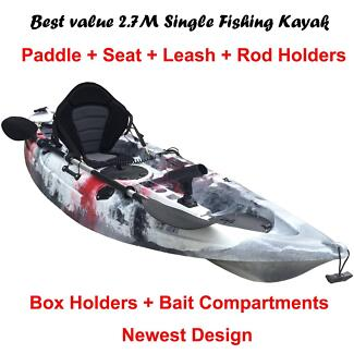 Central Coast kayak 9' fishing kayak package for sale