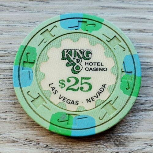 $25 Las Vegas King 8 Casino Chip - Near Mint - N2601.L