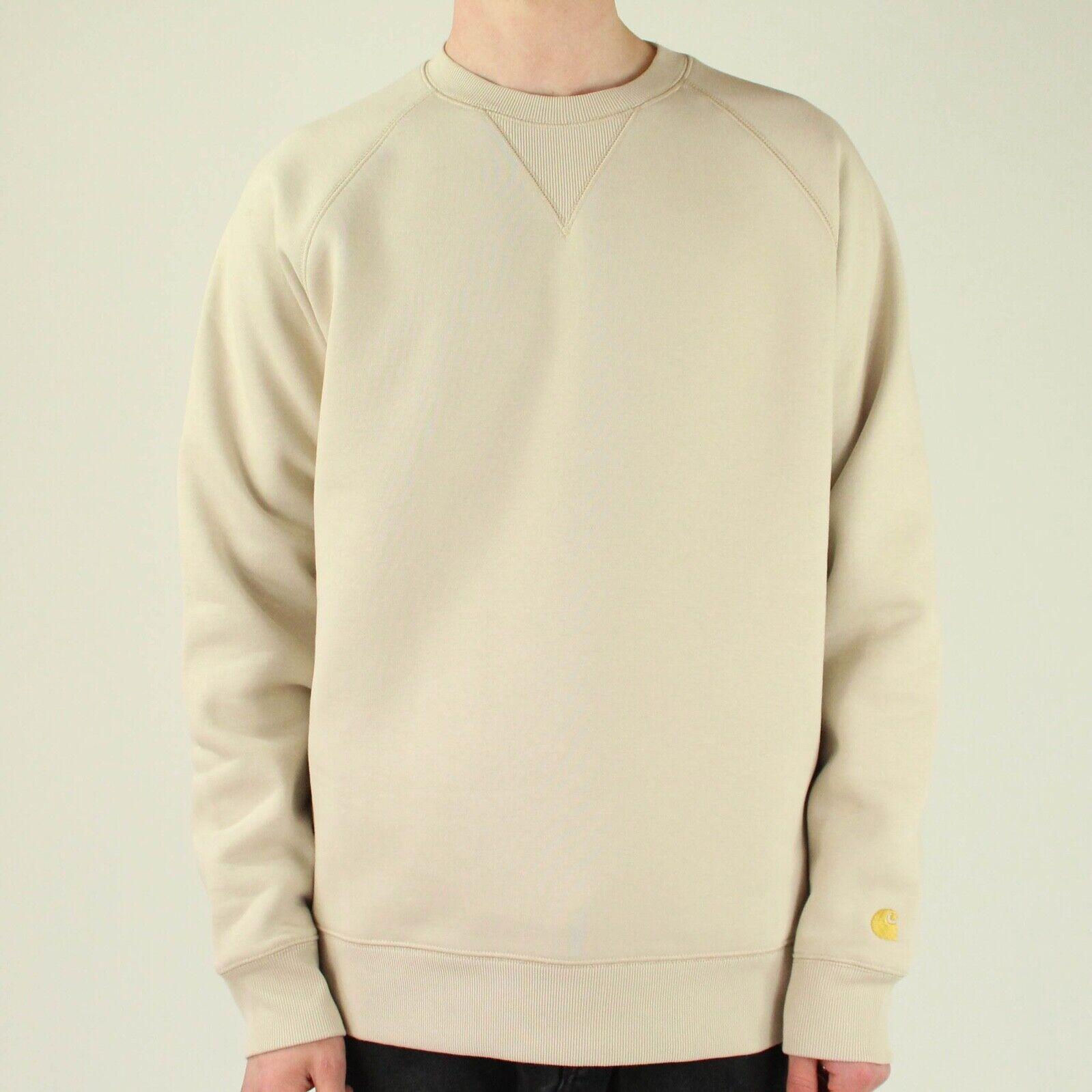 Carhartt Crewneck Sweatshirt Pullover Sweater Dark Blue Jumper Navy Blue