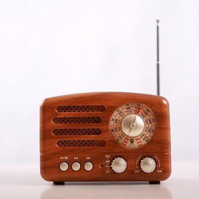 Bluetooth Radio Minianlage Radiospieler Mediaplayer Musikbox USB AUX FM AM SW TF