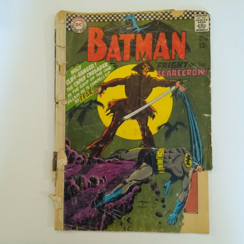 Batman #189 1st Scarecrow (Silver Age)READER COPY.all pages are intact but cover