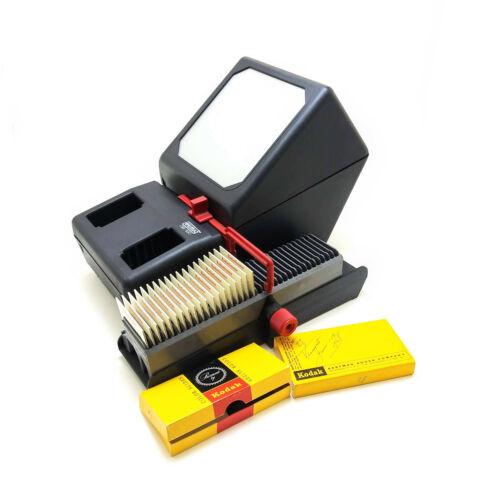 Eumig Slide Viewer Model DB-120, With 35MM Slides - Working - VINTAGE!
