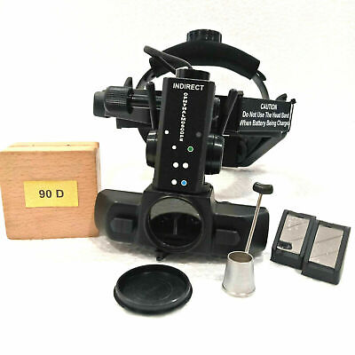 Free Shipping Rechargeable Indirect Ophthalmoscope 90 D With Accessories K9