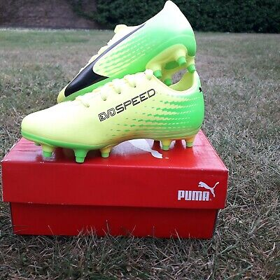 NEW! Boys Puma Evospeed Football Boots - Sizes 10 & 11 UK Child